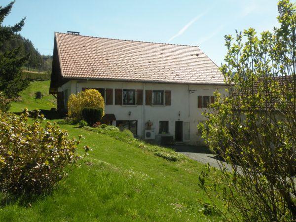 Vue maison façade